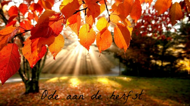 ode aan de herfst