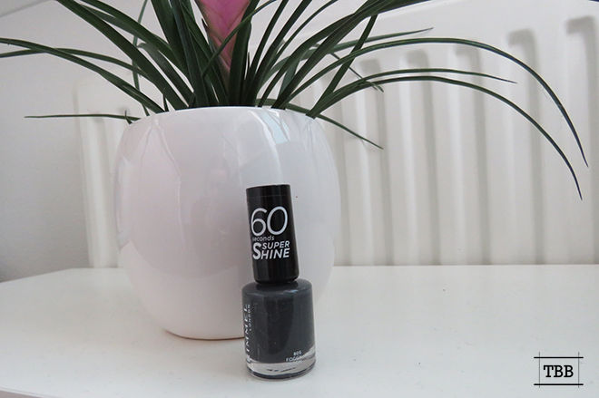 Review: Rimmel London 60 Seconds Grey Nagellak