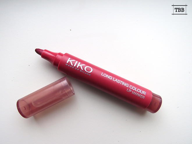Review | Kiko Long lasting Colour Lipmar