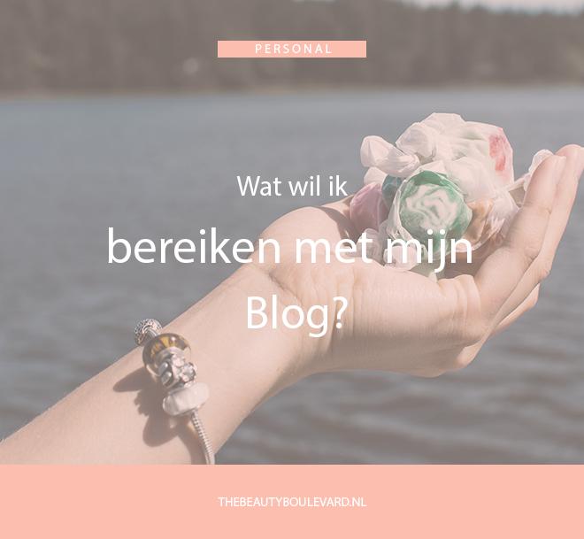 bereiken met mijn blog