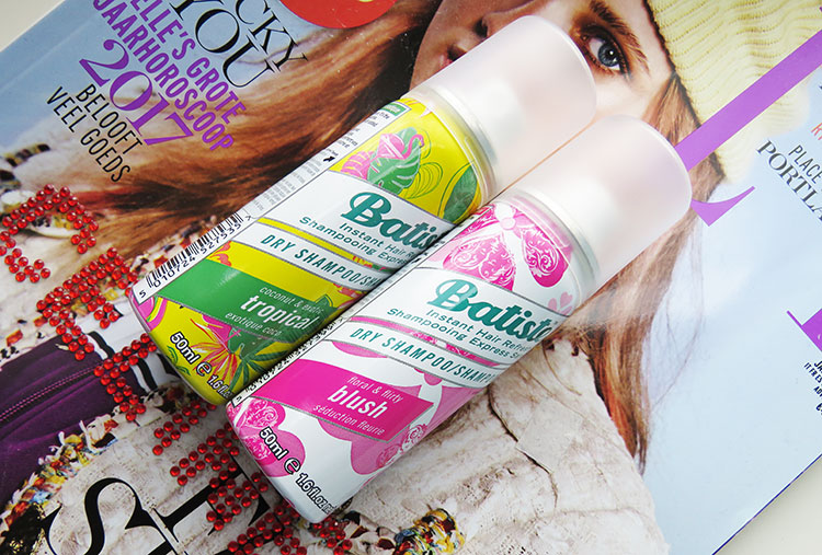 Droogshampoo of shampoo