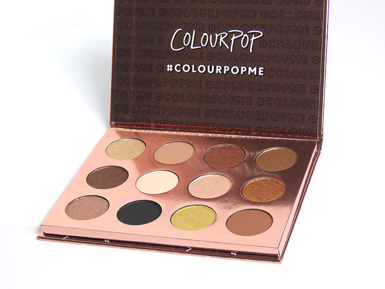 Review | Colourpop I think I love you palette