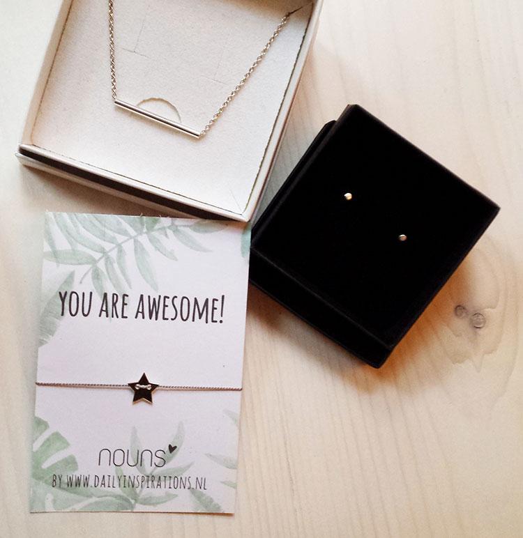 Win | Een minimalistische sieraden set