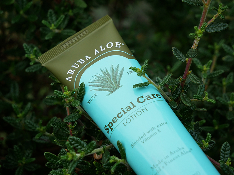 Special Care Lotion from Aruba Aloe | Review