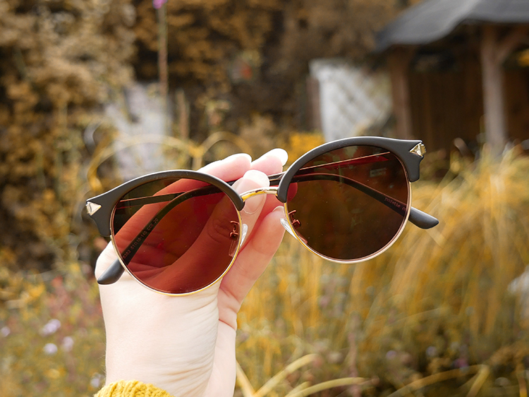 Hunter Black zonnebril