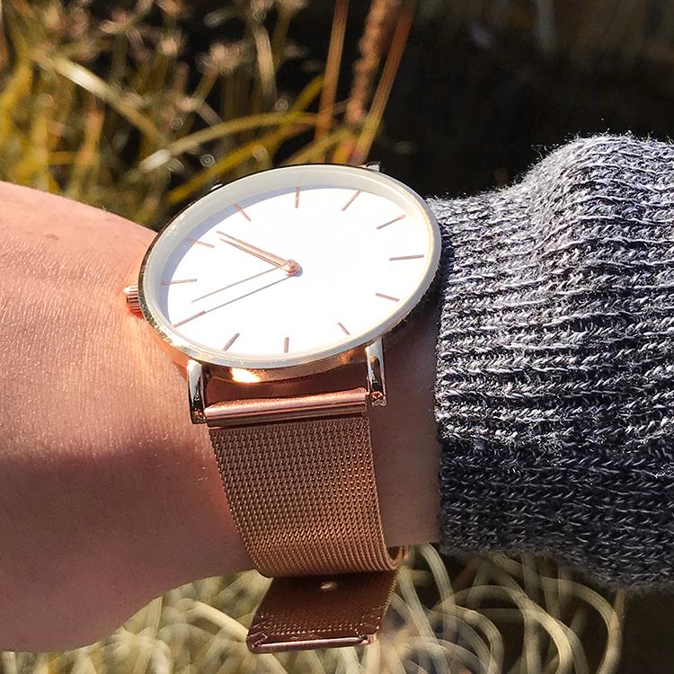Goedkoop rose gold horloge