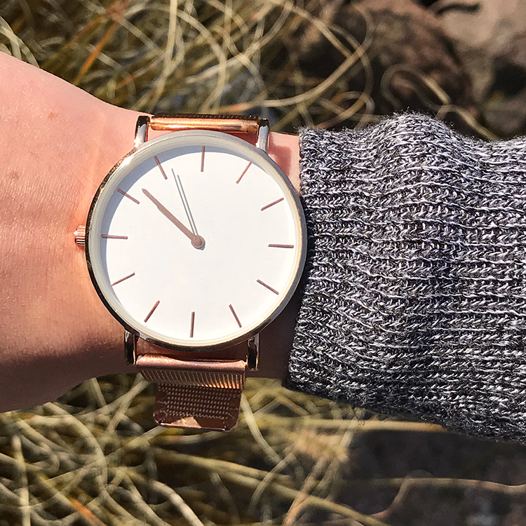 Cheap rose gold watch