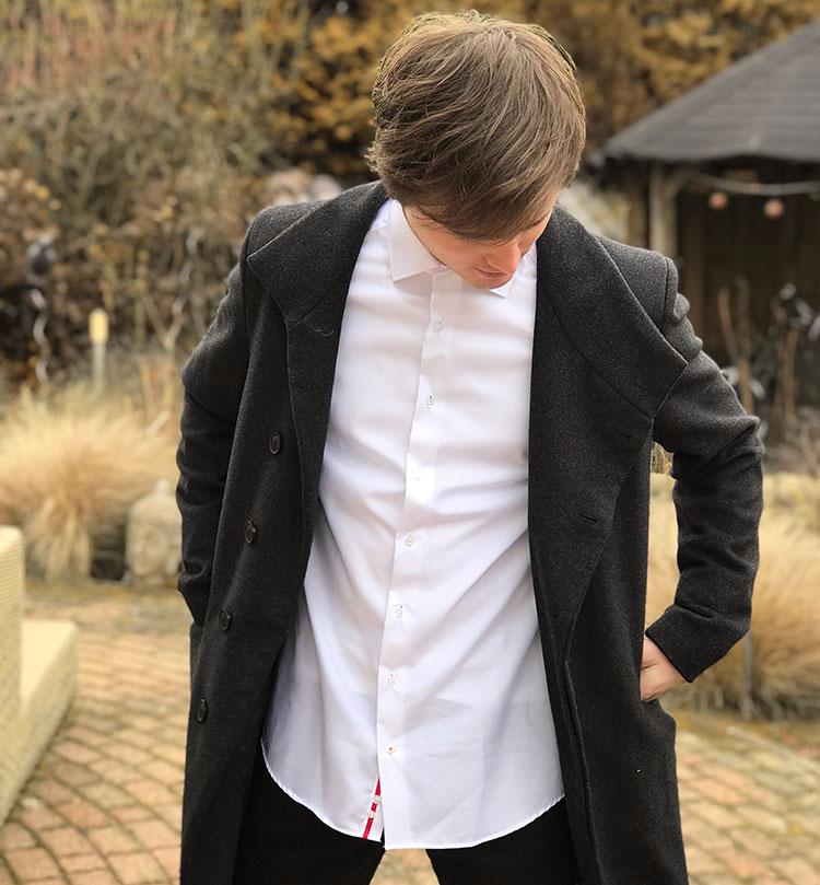 Valentijn overhemd