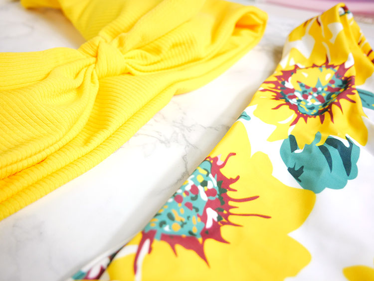 Yellow bikini of Shein