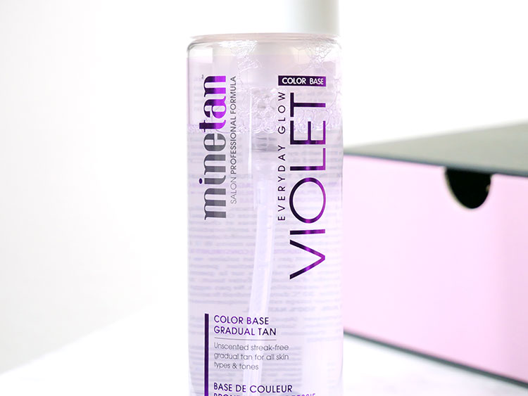 MineTan Violet Gradual Tan Foam | Review